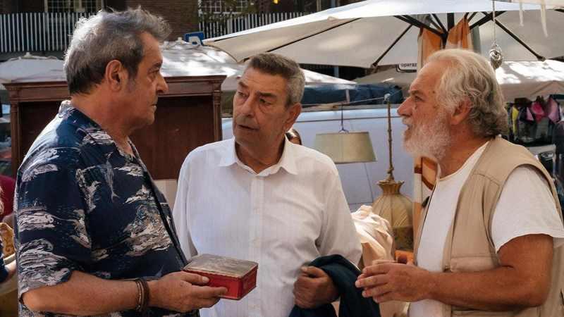 Lontano lontano - Ennio Fantastichini, Gianni Di Gregorio e Giorgio Colangeli