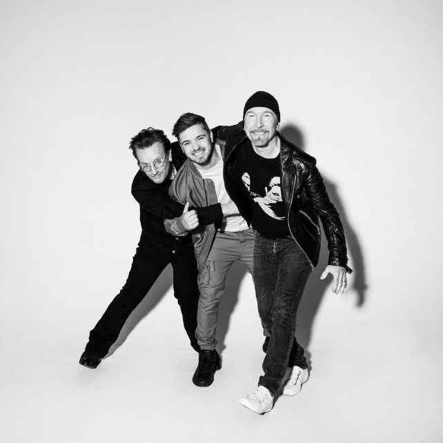 Martin Garrix, Bono & The Edge 1