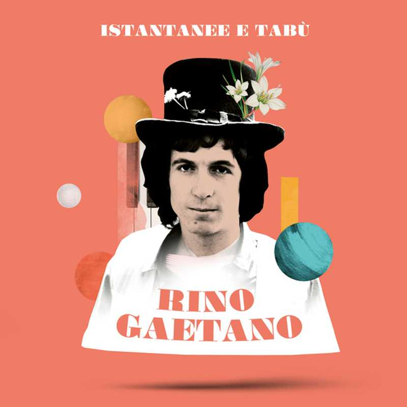 Rino Gaetano _COVER Istantanee e Tabù