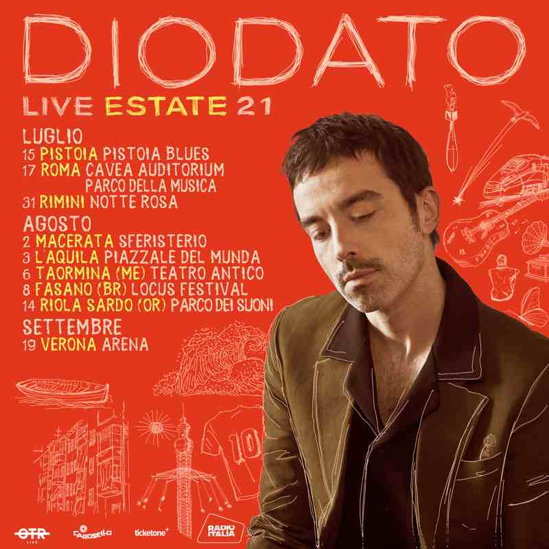Diodato - date tour 2021