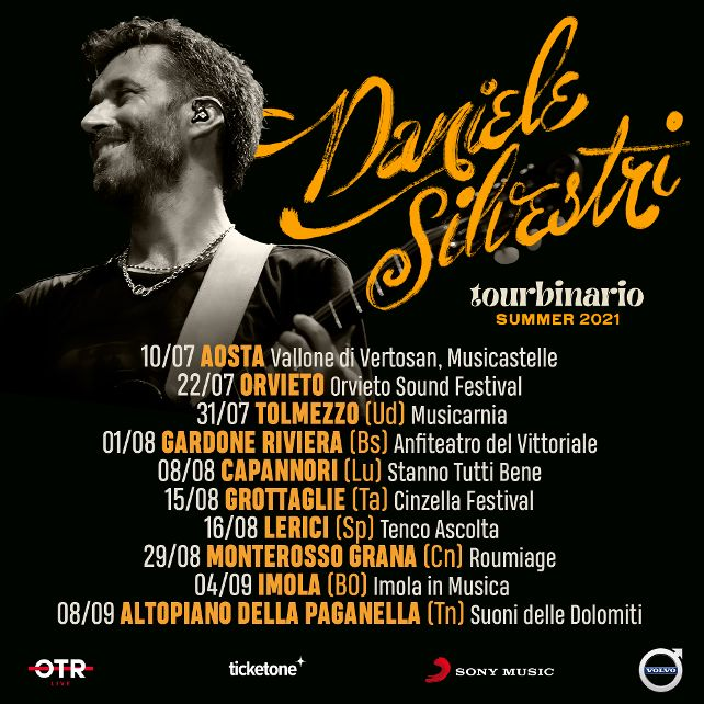 Daniele Silvestri - tour 2021
