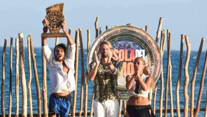 L'isola dei famosi 2021 - Awed, Massimiliano Rosolino e Valentina Persia