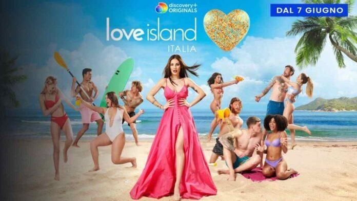 Love Island Italia - banner Giulia De Lellis