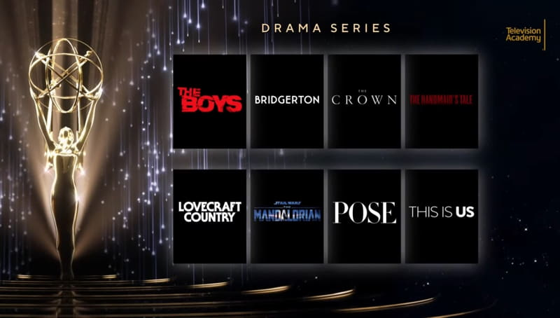 Emmy 2021 nomination - Serie Drama