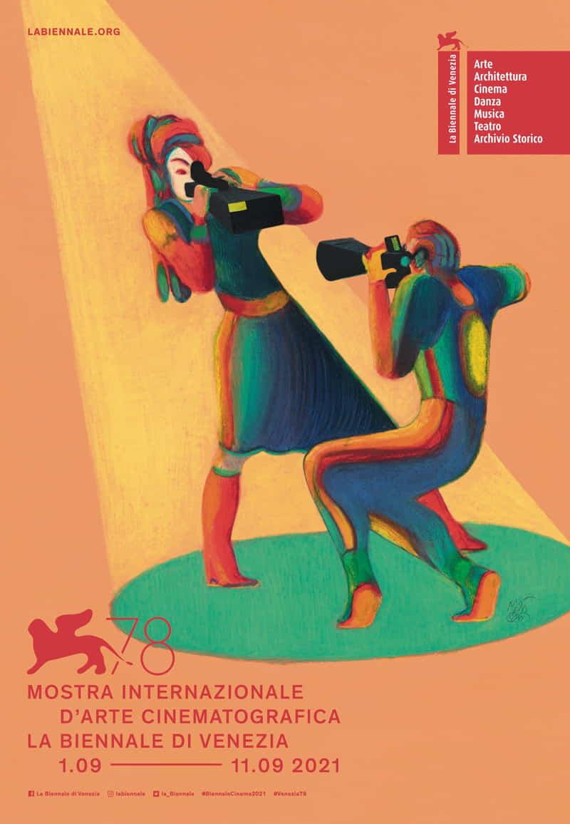 Mostra del Cinema di Venezia 2021 - poster