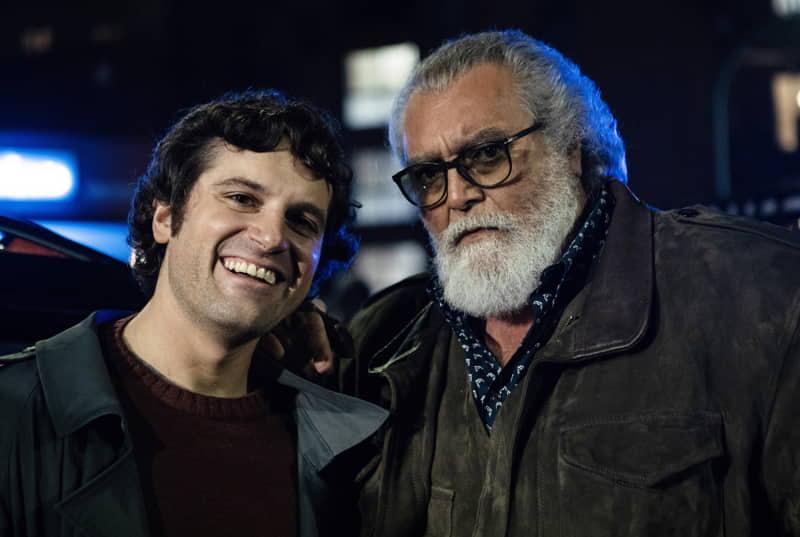Una notte da dottore - Frank Matano e Diego Abatantuono (foto Loris T. Zambelli)