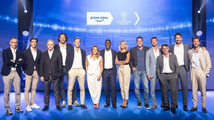 Amazon Prime Video - Squadra Champions 2021-22