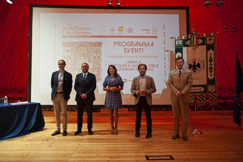 Perdonanza Celestiniana 2021 - Presentazione programma (2)