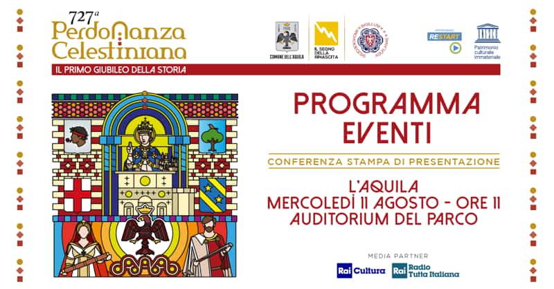Perdonanza Celestiniana 2021 - programma