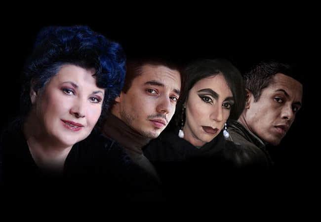 Persone naturali e strafottenti - Marisa Laurito, Guglielmo Poggi, Giancarlo Nicoletti e Livio Beshir
