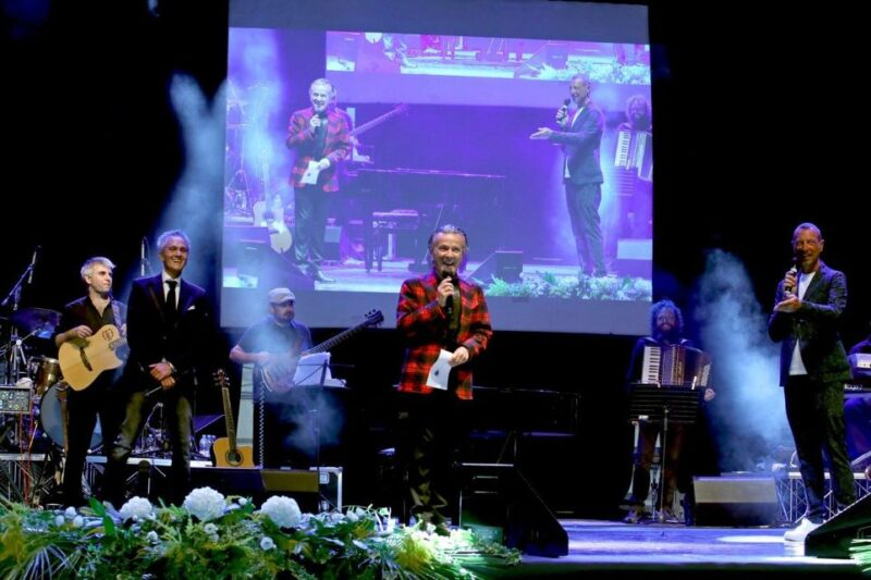 Premio Ravera con Pupo e Michele Pecora