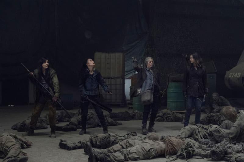The Walking Dead 11 - Cassady McClincy, Christian Serratos, Melissa McBride, Lauren Cohan