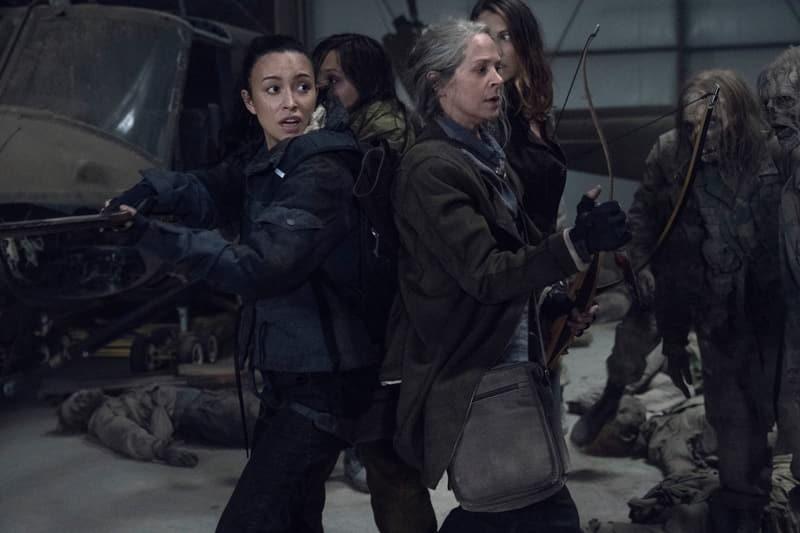 The Walking Dead 11 - Christian Serratos e Melissa McBride