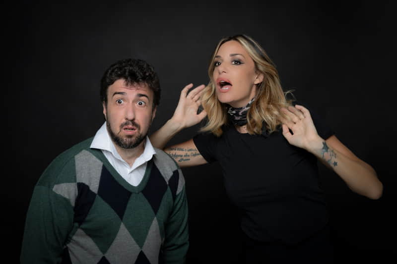 Una stanza al buio - Claudio Zarlocchi e Alessia Fabiani