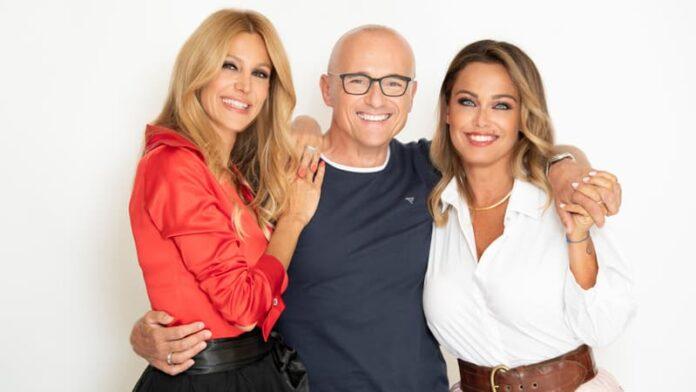 GF Vip 2021 - Adriana Volpe, Alfonso Signorini e Sonia Bruganelli