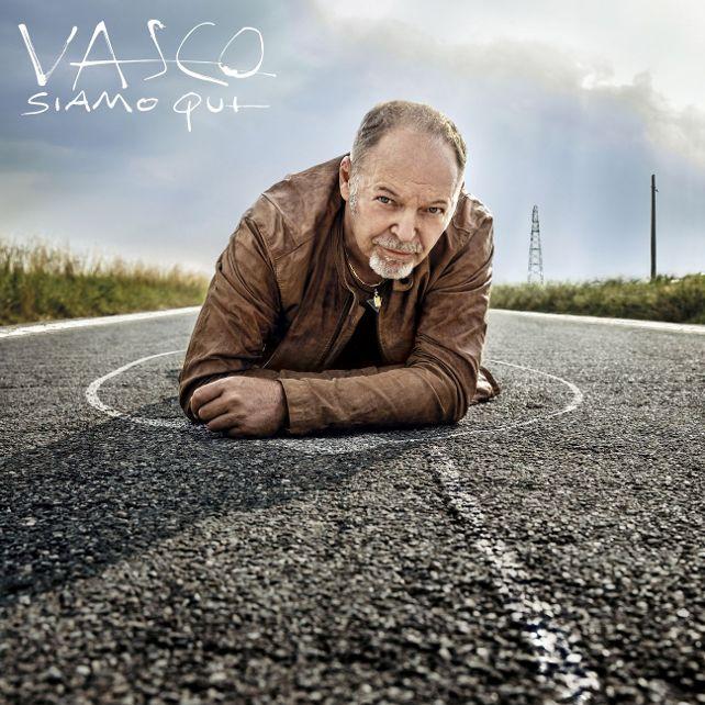 Vasco Rossi - Siamo qui copertina