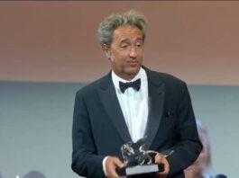Venezia 78 - Paolo Sorrentino premiato