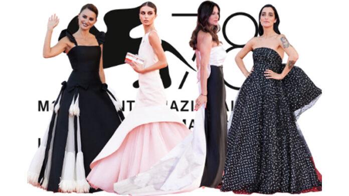 Venezia 78: i migliori look black & white