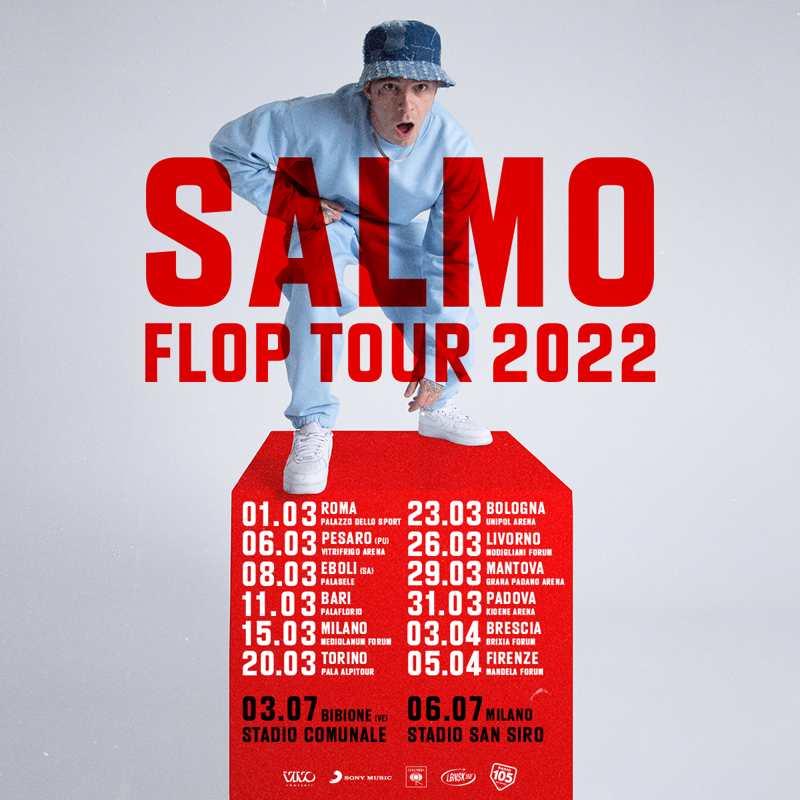 Salmo - Flop tour 2022 date